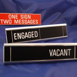 Sliding Signs